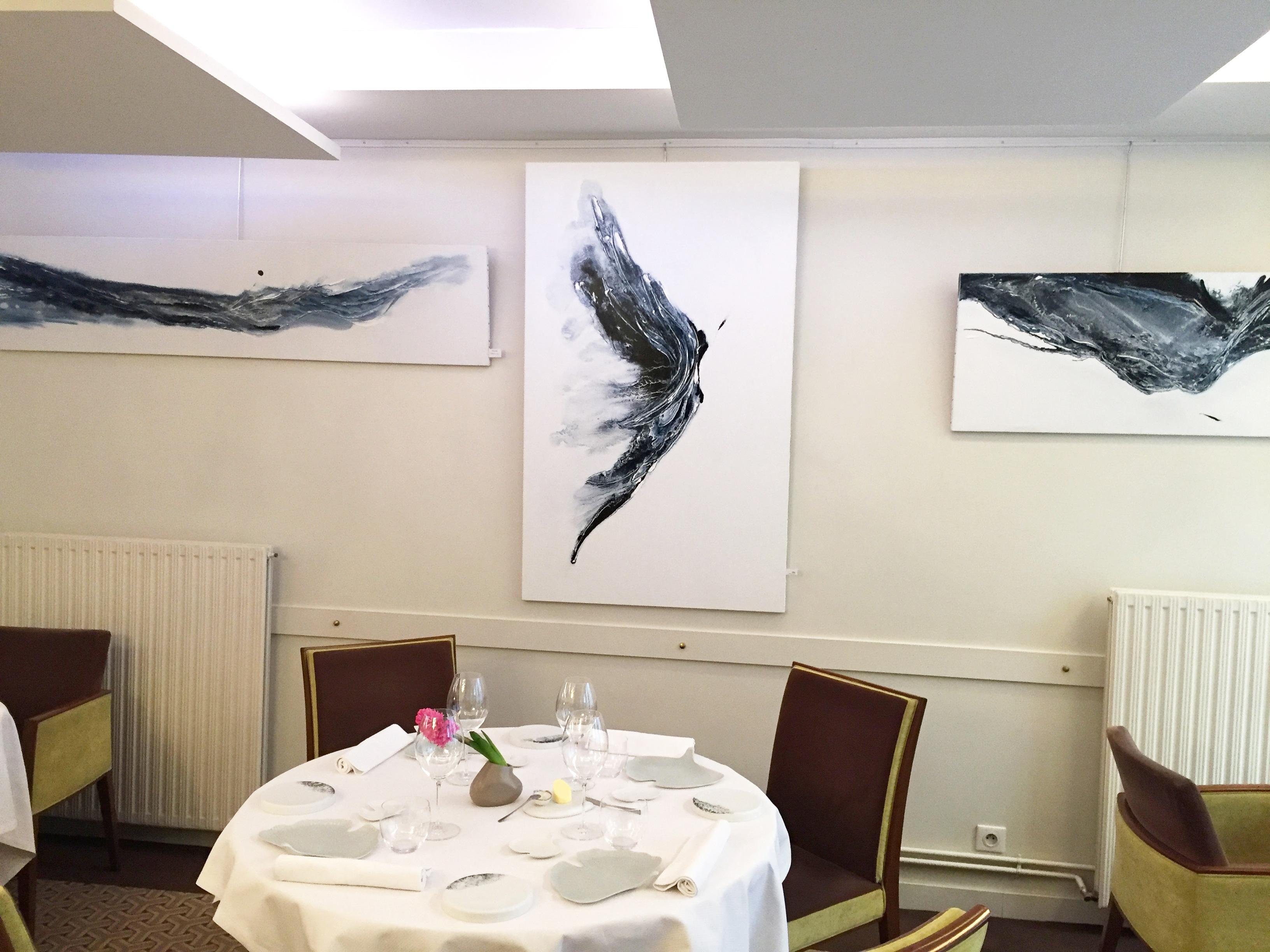 Exposition Catherine Mourier-Godin janvier 2017 à Fontainebleau